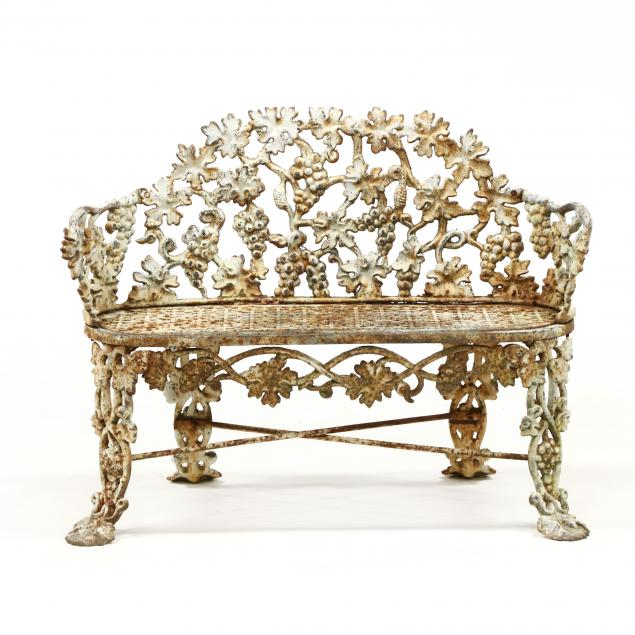 victorian-cast-iron-i-grapevine-i-garden-bench