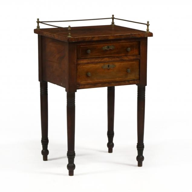 american-sheraton-mahogany-two-drawer-stand
