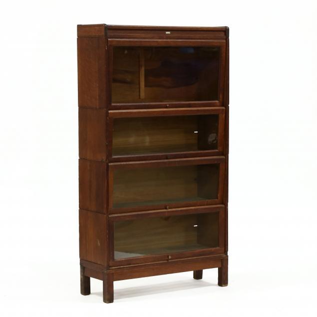 lundstrom-oak-barrister-bookcase
