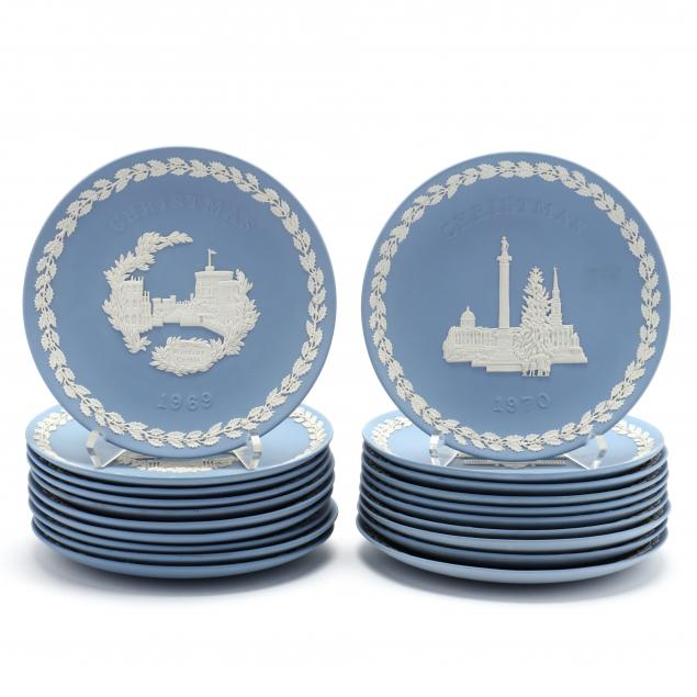 a-collection-of-20-wedgwood-christmas-plates