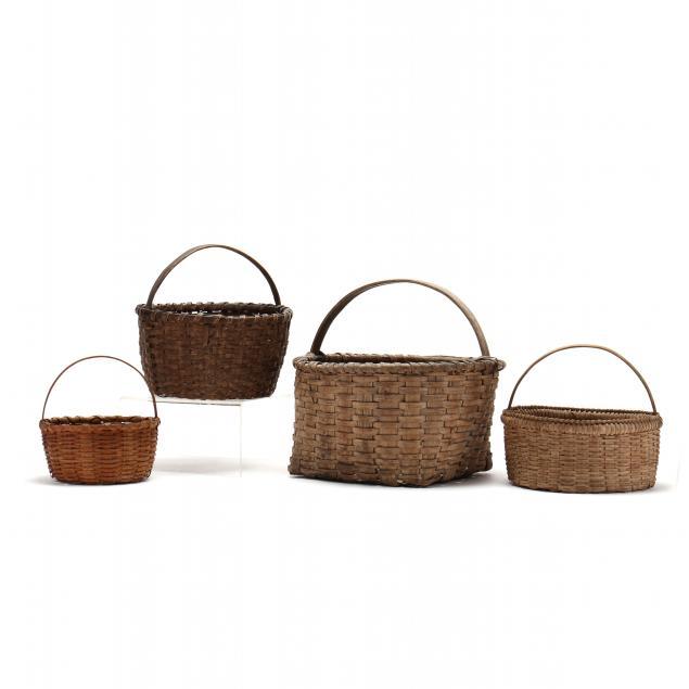 four-antique-baskets
