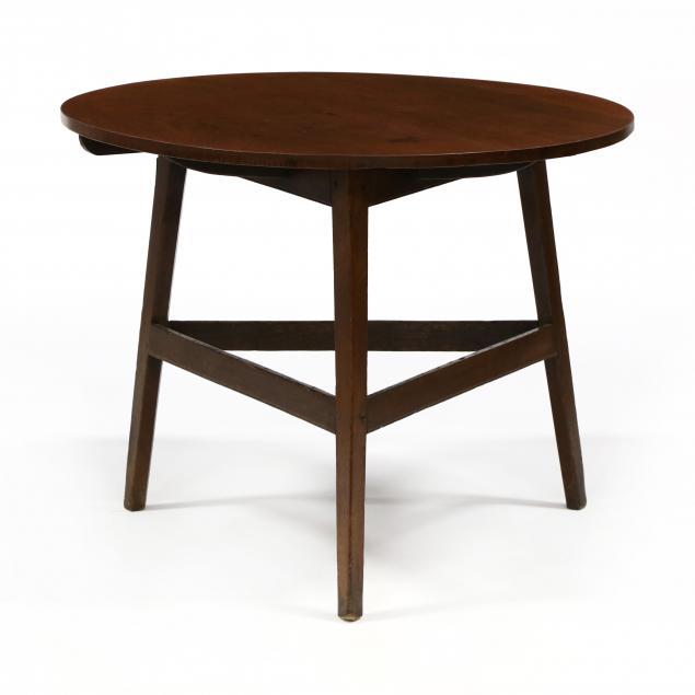 antique-english-oak-cricket-table