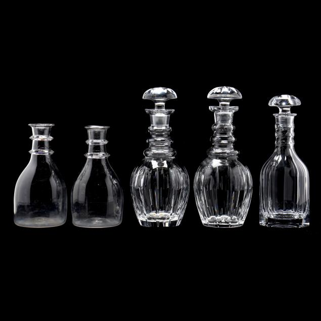 five-glass-decanters