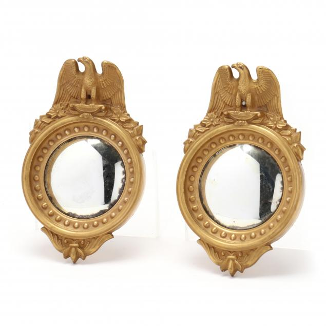 pair-of-miniature-federal-style-glass-bullseye-mirrors