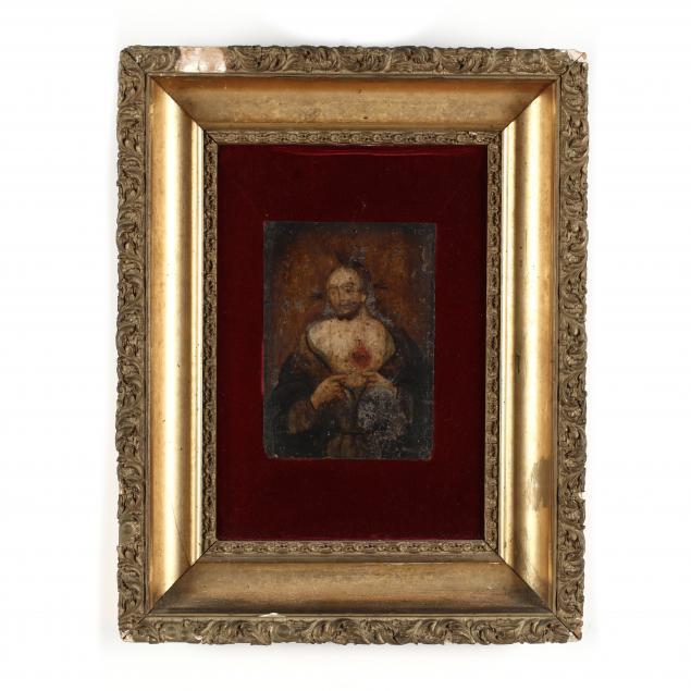 antique-mexican-retablo-jesus-of-the-sacred-heart