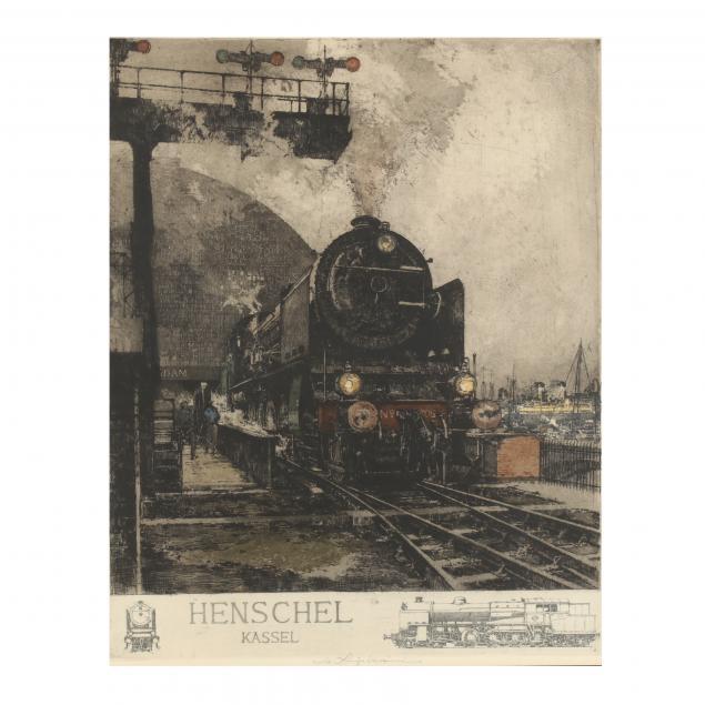 luigi-kasimir-austrian-1881-1962-i-henschel-lokomotive-i