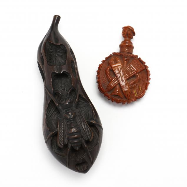 antique-handcarved-netsuke-and-scent-bottle