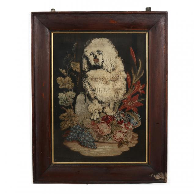 victorian-needlework-of-a-poodle