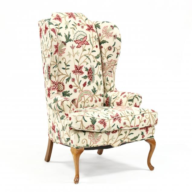 vintage-upholstered-crewelwork-chair