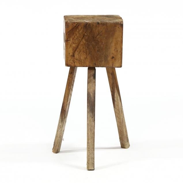 abe-cassidy-jr-nc-b-1942-small-butcher-block-stand