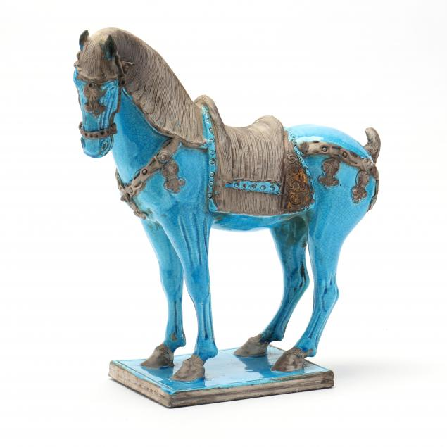 a-chinese-style-aqua-blue-glazed-horse