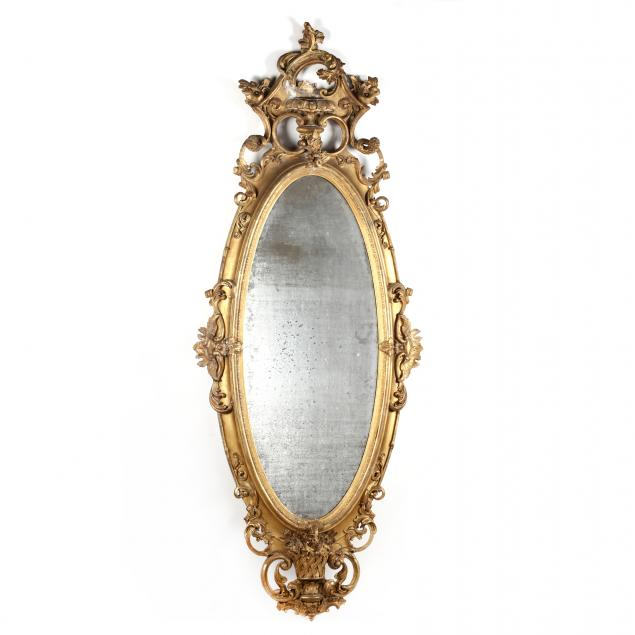 large-antique-rococo-revival-carved-and-gilt-mirror