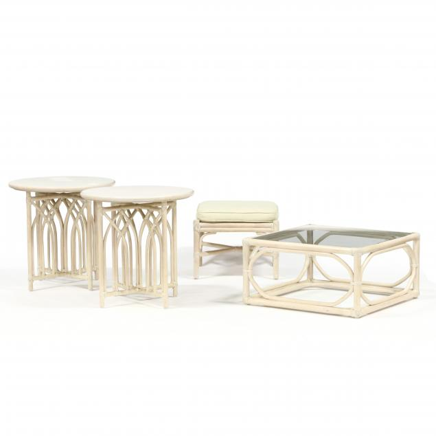 mcguire-rattan-tables-and-ottoman