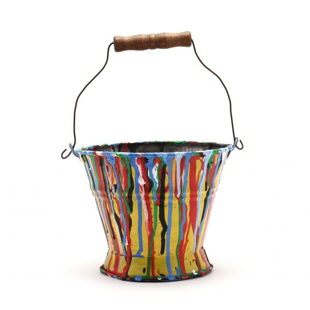 drip-painted-pail-featured-in-a-bob-timberlake-painting