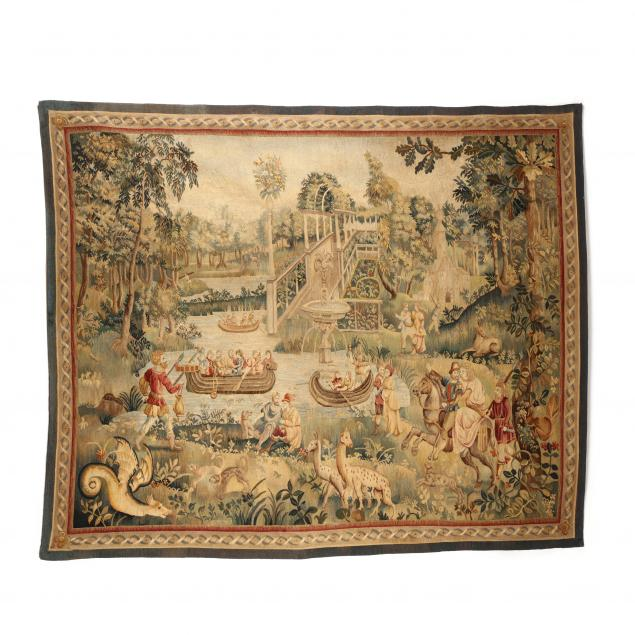 antique-continental-scenic-tapestry