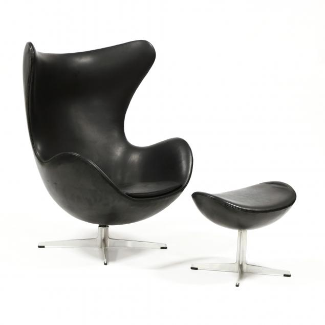 arne-jacobsen-denmark-1902-1971-vintage-egg-chair-and-ottoman
