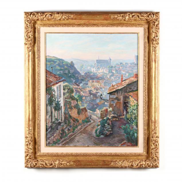henri-pailler-french-1876-1954-i-portiers-de-la-cueille-aigue-le-matin-i