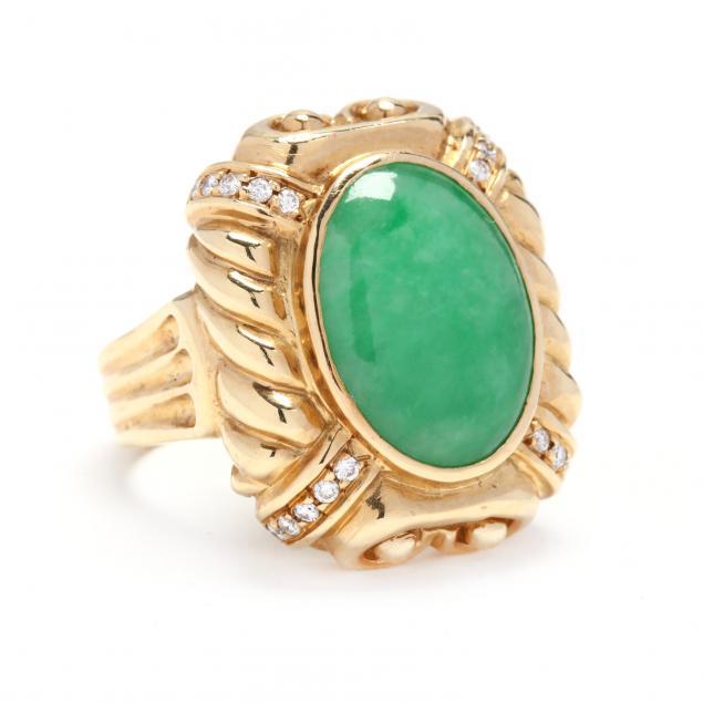 18kt-gold-jadeite-and-diamond-ring