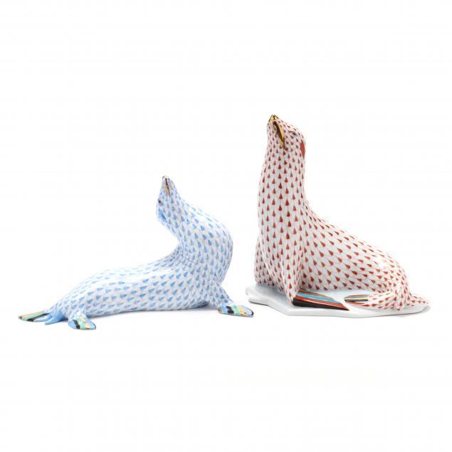 herend-porcelain-large-sea-lions
