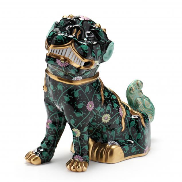 herend-porcelain-i-siang-noir-i-foo-dog