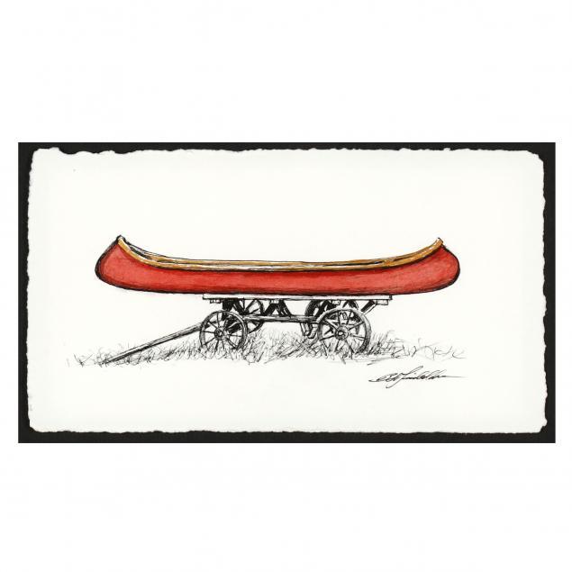 bob-timberlake-nc-b-1937-the-red-canoe