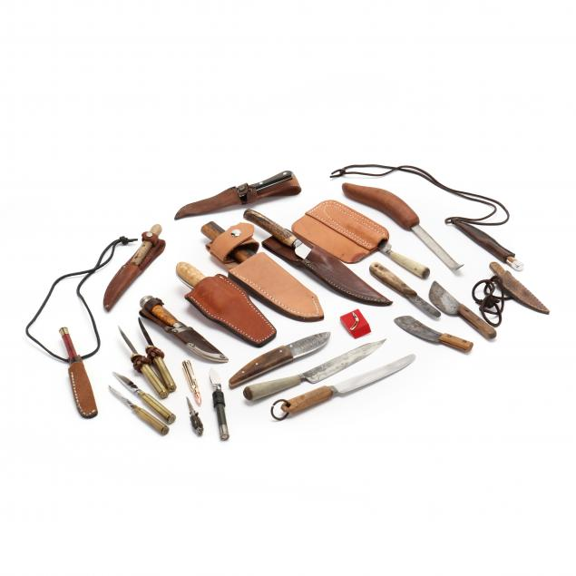 collection-of-side-knives-and-novelty-blades