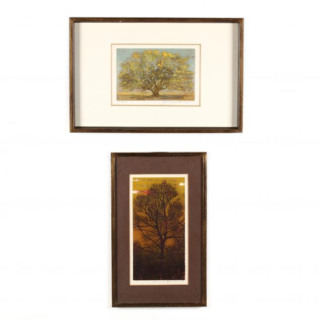 joichi-hoshi-japanese-1911-1979-i-big-tree-ten-i-and-i-evening-i