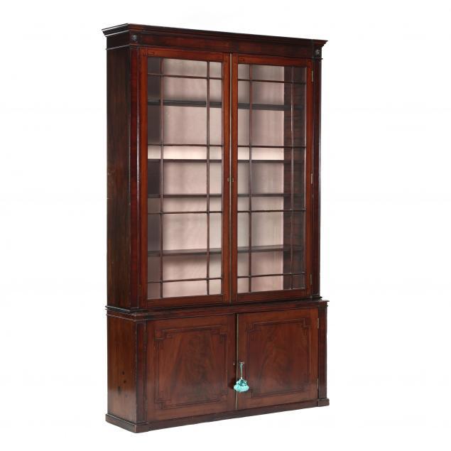 regency-mahogany-and-ebony-inlaid-bookcase