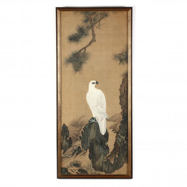after-giuseppe-castiglione-italian-1688-1766-white-eagle-and-pine