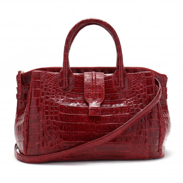 red-crocodile-camille-satchel-nancy-gonzalez