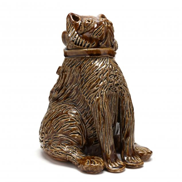 nc-folk-pottery-billy-ray-hussey-large-seated-cat
