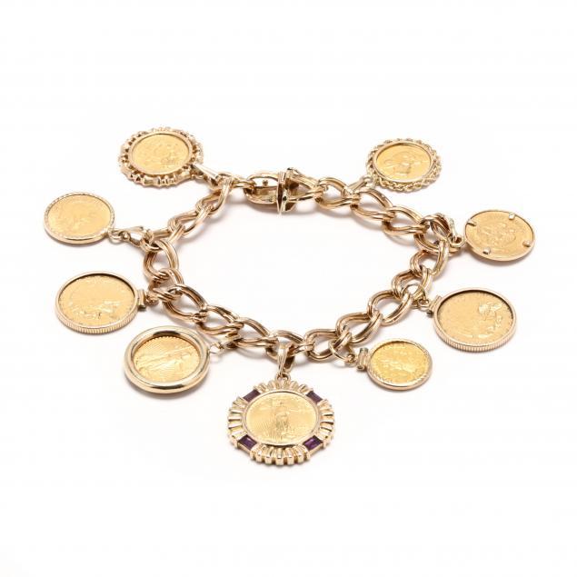 14kt-gold-coin-bracelet