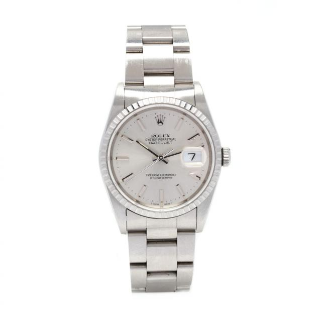 gent-s-stainless-steel-oyster-perpetual-datejust-watch-rolex