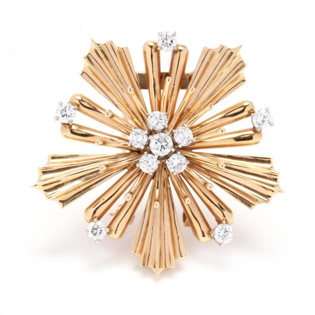 14kt-gold-and-diamond-brooch