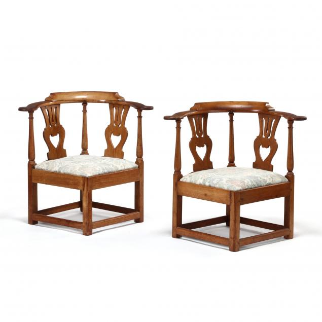 pair-of-southern-chippendale-walnut-corner-chairs