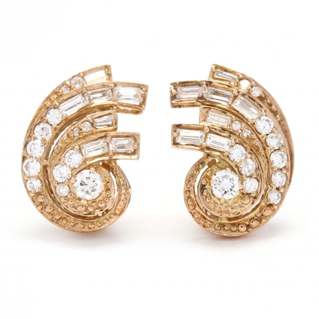 14kt-gold-and-diamond-earrings