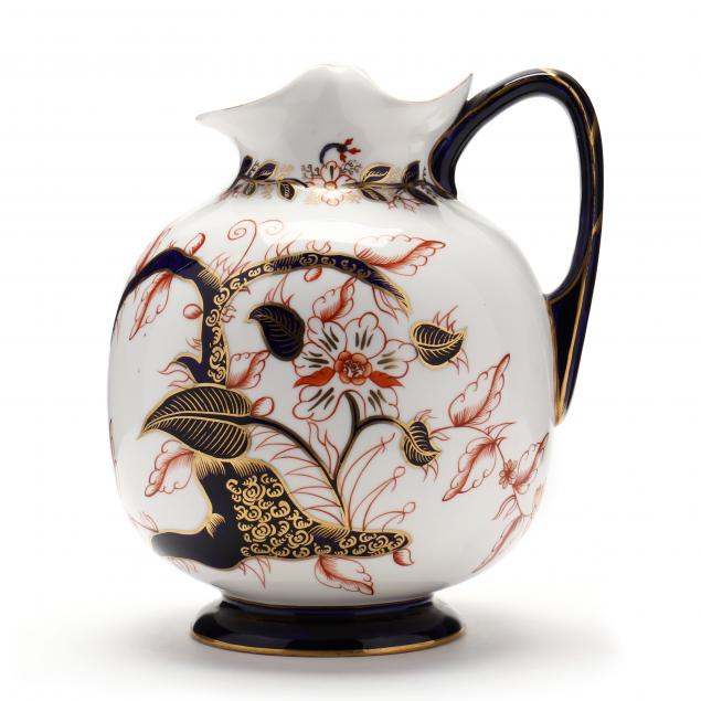 antique-royal-crown-derby-pitcher
