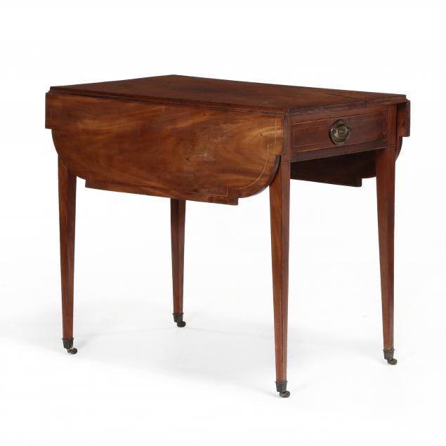 southern-federal-inlaid-mahogany-pembroke-table