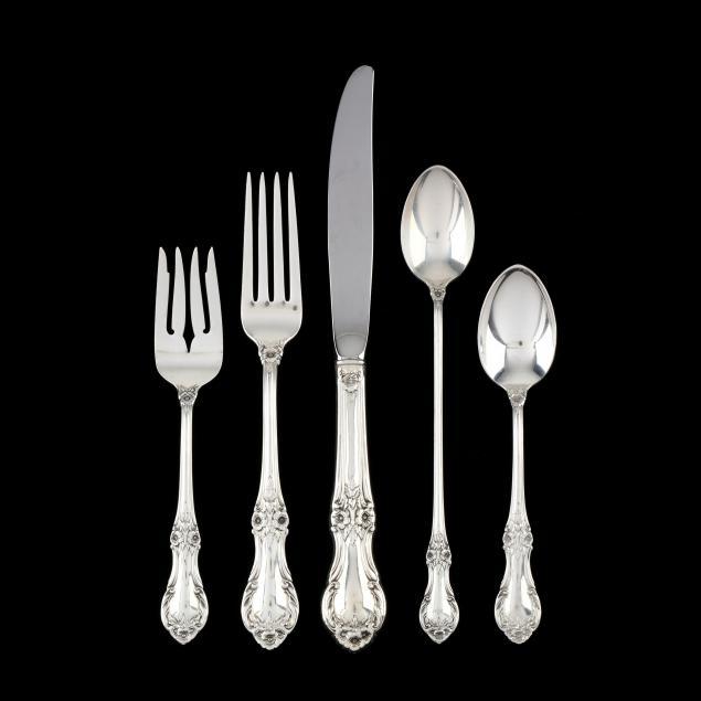 international-i-wild-rose-i-sterling-silver-flatware-service