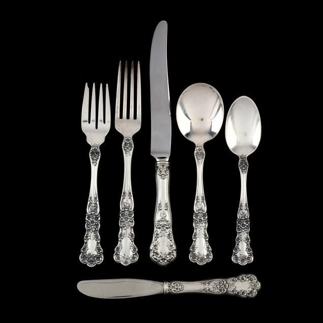 gorham-i-buttercup-i-sterling-silver-flatware-service