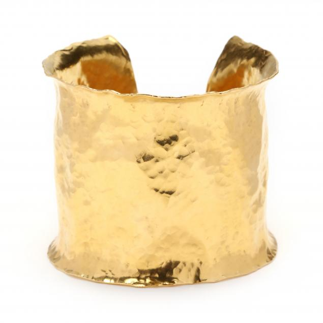 wide-22kt-gold-cuff-bracelet-jean-mahie