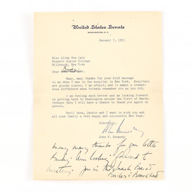 letters-and-ephemera-saved-by-a-longtime-kennedy-family-friend