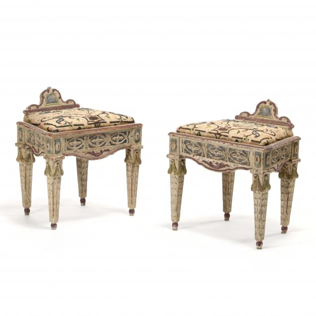 pair-of-italian-carved-and-painted-seats-with-needlework-upholstery
