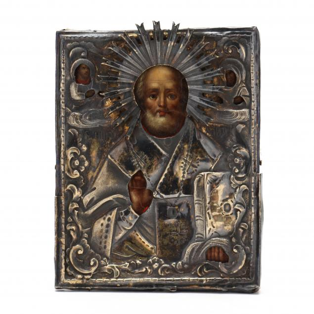 a-russian-icon-of-saint-nicholas-the-miracle-worker-19th-century