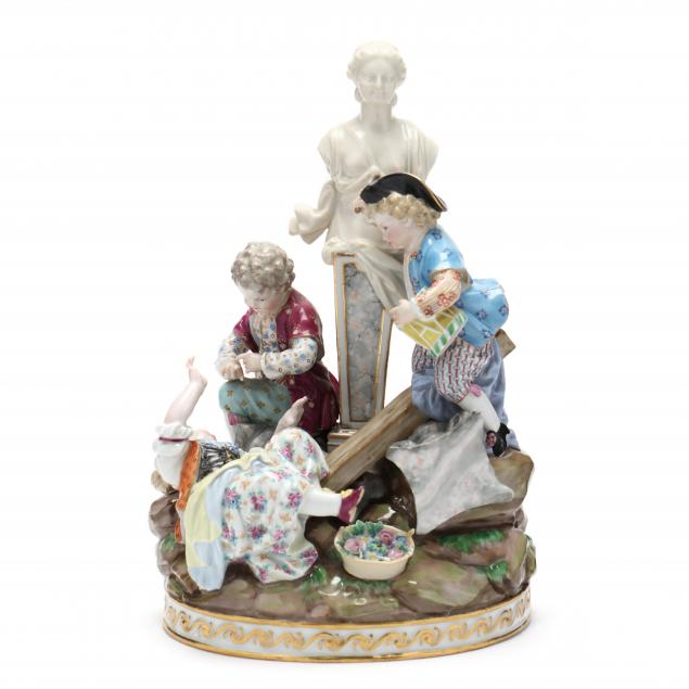 a-meissen-figural-group