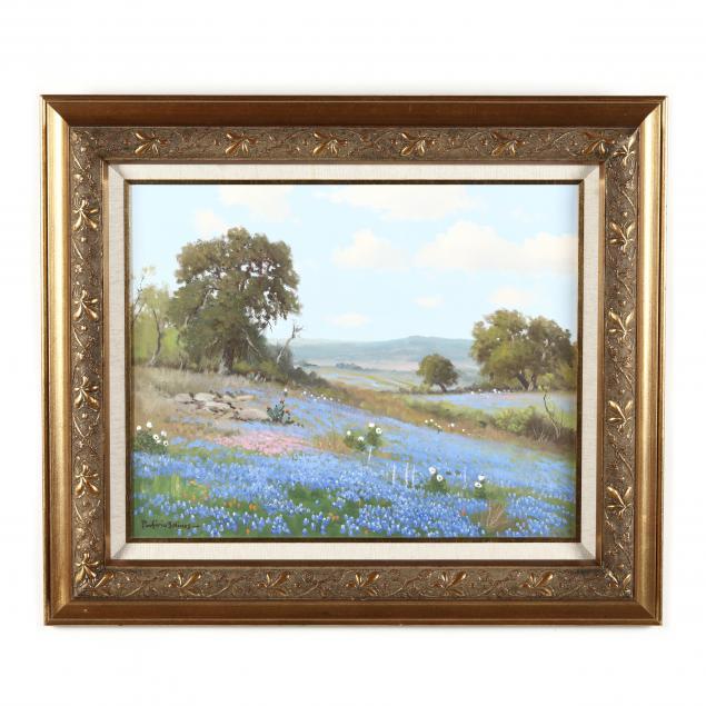 porforio-salinas-texas-1910-1973-bluebonnets-in-the-hills