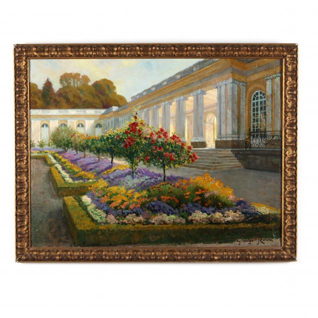 george-roux-french-1853-1929-gardens-of-the-grand-trianon-palace-of-versailles