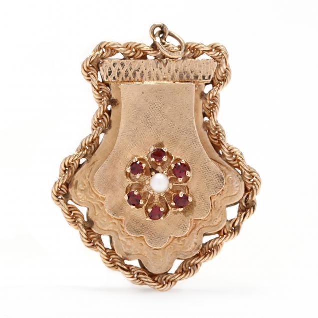 gold-and-gem-set-locket-charm-pendant