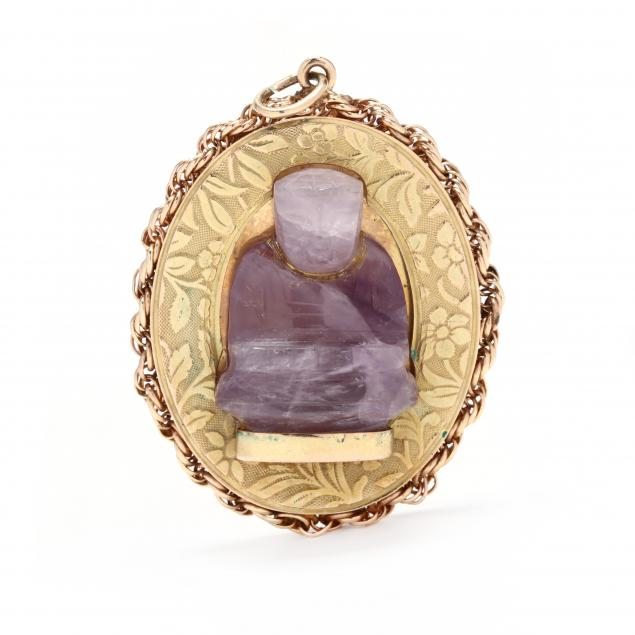 14kt-gold-and-amethyst-charm-pendant