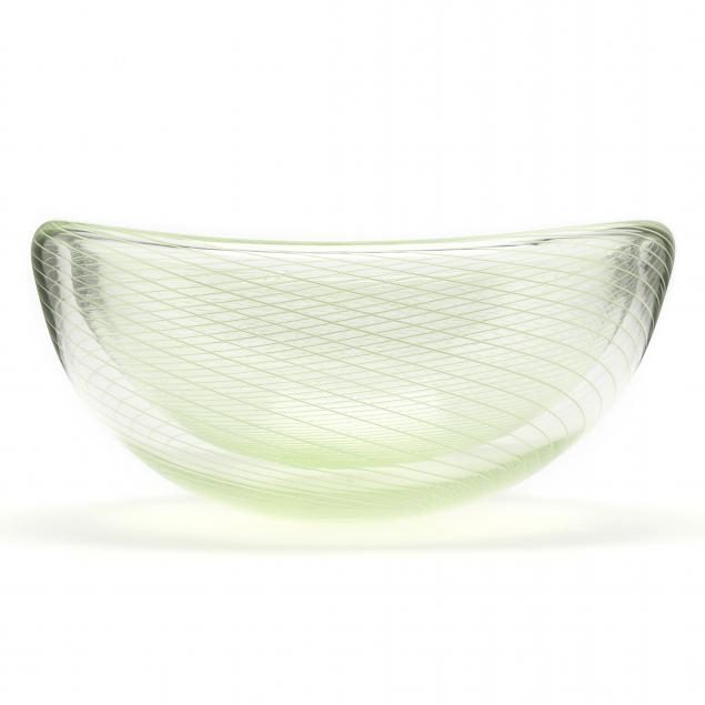 john-geci-nc-hollow-art-glass-center-bowl